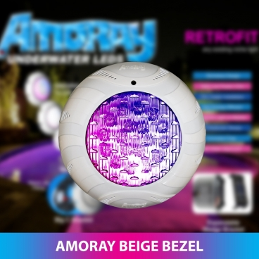 Amoray 8in Click Fit Bezel