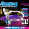 Amoray 8in Spacer Gasket (White)