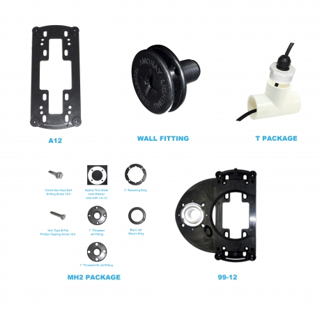 Amoray 12in New Installation Bracket Package