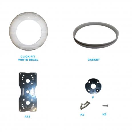 Amoray 8in Aqua Bracket Package