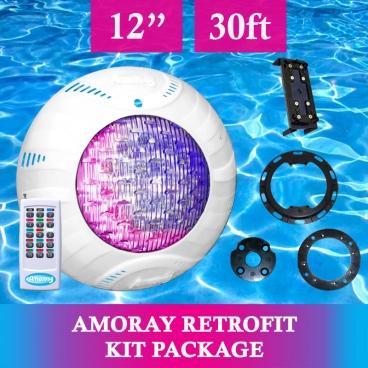 Amoray 12in Retrofit Light Kit (13 Color Show) 30ft
