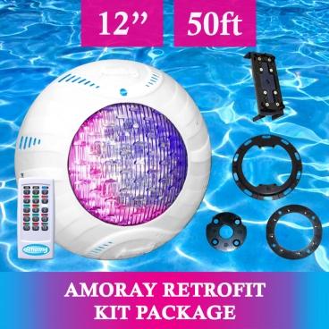 Amoray 12in Retrofit Light Kit (13 Color Show) 50ft