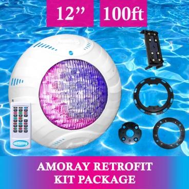 Amoray 12in Retrofit Light Kit (13 Color Show) 100ft