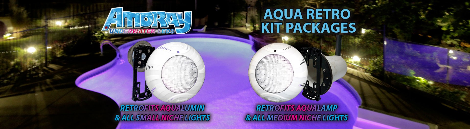 Amoray Aqua Retro Kit Packages